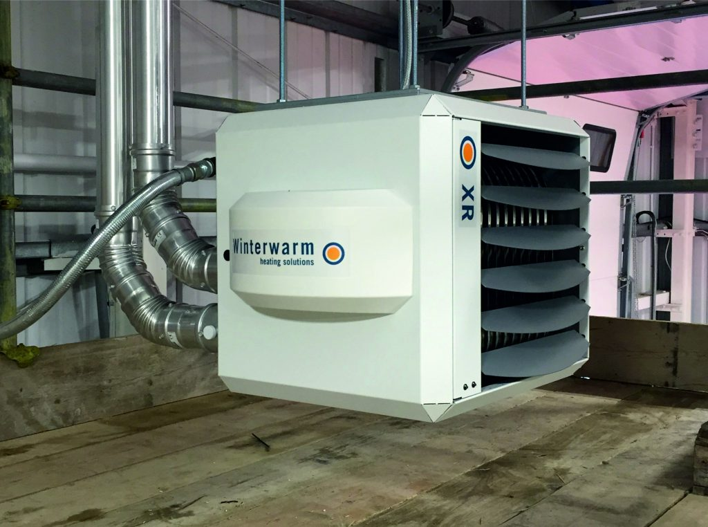 Winterwarm heating solutions - Gas (Natural and LPG) and Oil Fired Warm Air Unit Heaters