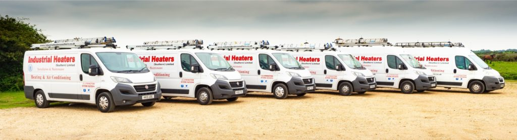 Industrial Heaters Ltd vans - Hampshire, Dorset and South England
