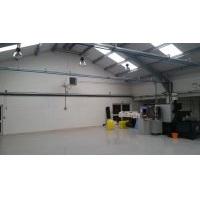 Engineering Workshop, Basingstoke Hampshire Installation of Warm Air Heating & Gas Main