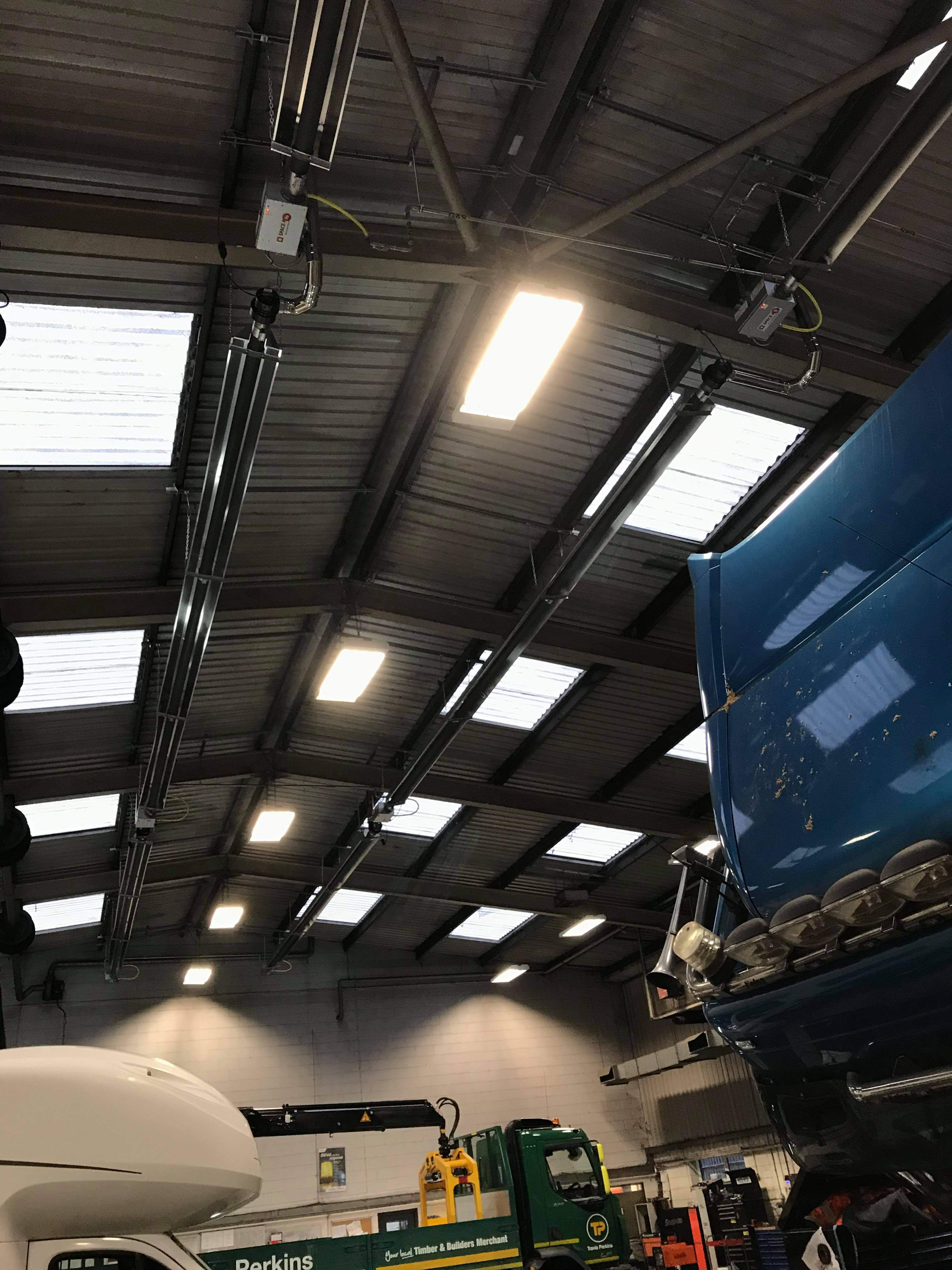 Gas (Natural and LPG) Radiant Heaters, Hampshire Dorset and South of England
