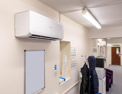 Engineering Workshop, Ferndown Dorset - Installation of Air Conditioning