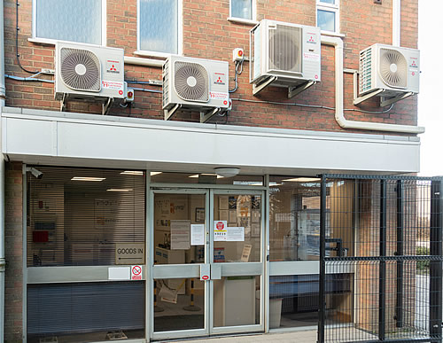 Engineers air conditioning - installation of 19 Mitsubishi single split air conditioning system