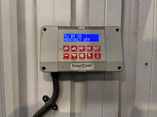 SmartCom3 single-zone controller for heating system Romsey Hampshire